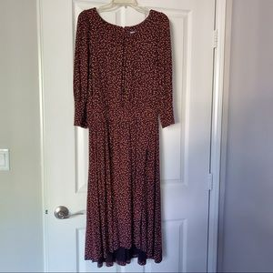 Maeve Chatham Dress from Anthropologie, Size L